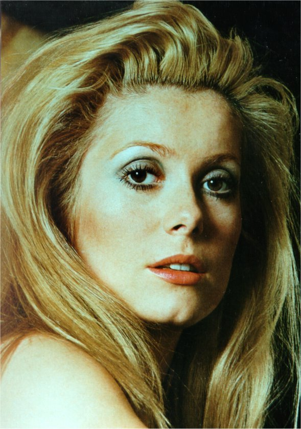 Catherine Deneuve as most beautiful woman in the world