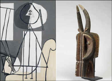 Picasso back to Africa -pictureBBC