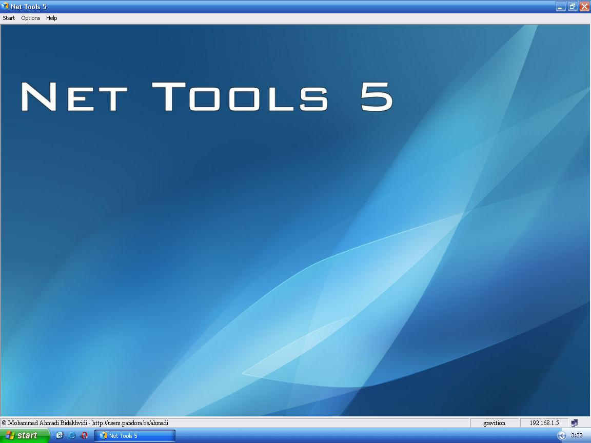 Net Tools - BinusHacker