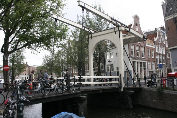 Draw bridge in Amsterdam