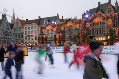 Ice-skating ring