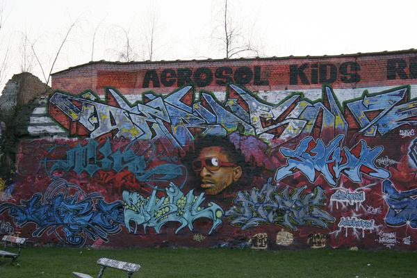 Antwerp - graffiti