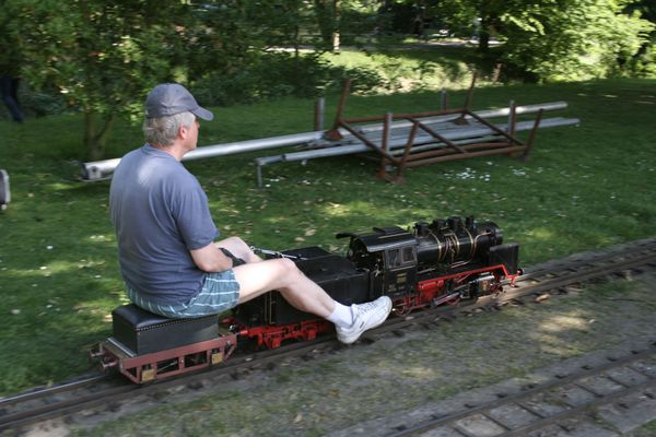 Rideable Model Trains http://www.pic2fly.com/Rideable+Model+Trains.html
