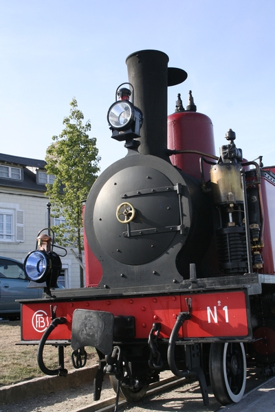 Historic train ride from St-Valéry sur Somme to Le Crotoy (Picardie, France)