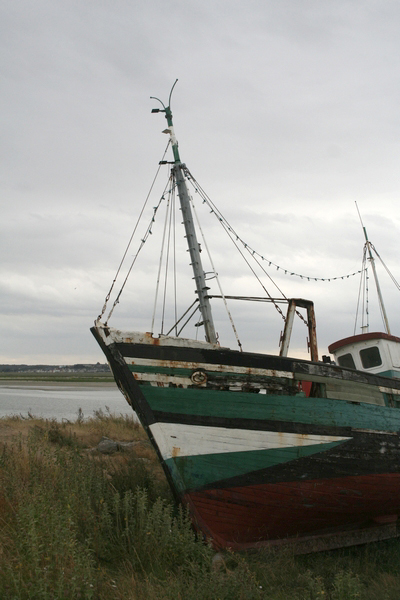 Ship wrecks in Le Crotoy - Picardie (France)