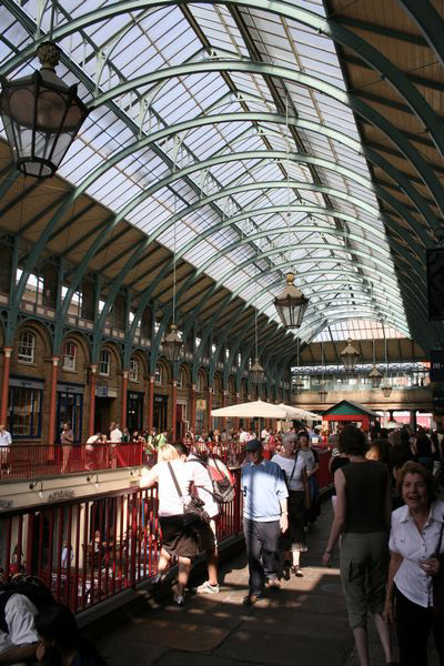 London - the old market at Covent Garden