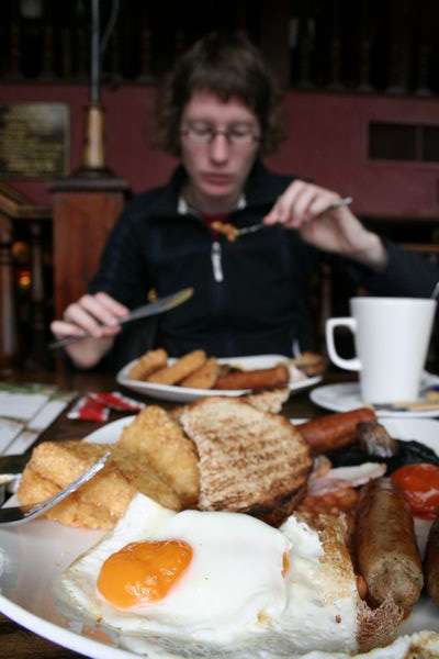 Enormous English breakfast