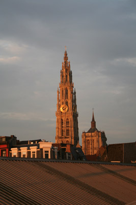 View on the cathedral