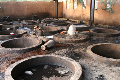Leather production centre in Niamey (Niger)