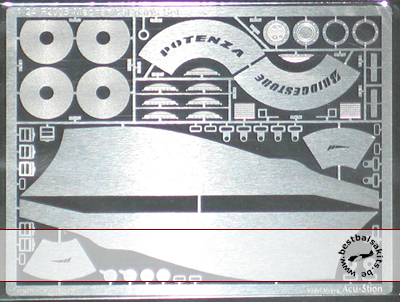 ATS 1/24 PE DETAIL UP for 1/24 REVELL FERRARI F2005 F1