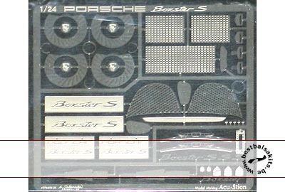 ATS 1/24 PE DETAIL UP for 1/24 TAMIYA PORSCHE BOXTER