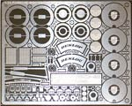 ATS 1/24 MECHANICAL PARTS PE DETAIL TAMIYA PORSCHE 962