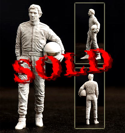 CRAFT 10 1/24 1/24 F1 SENNA FIGURE RELAXED WALKING REVELL PROTAR