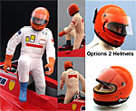 GF MODELS 1/12 F1 VILLENEUVE STEPPING OUT TAMIYA PROTAR FERRARI
