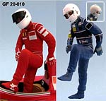 GF MODELS 1/20 MANSELL / ALESI 641/2 DRIVER FIGURE  STEPPING OUT