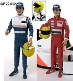 GF MODELS 1/20 1/20 SENNA MCLAREN WILLIAMS DRIVER THUMBS UP