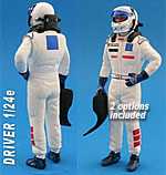 GF MODELS 1/24 MODERN F1 DRIVER FIGURE HAND IN HIP