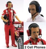 GF MODELS 1/24 MECHANIC TECHNICIAN MANAGER FIGURE STANDING
