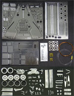 KA-FMD 1/20 FUJIMI FERRARI 126C2 SAN MARINO PERFECT PARTS
