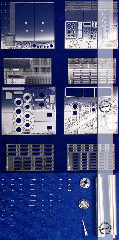 KA-FMD 1/12 1/12 DETAIL SET for FORD GT40 TRUMPETER