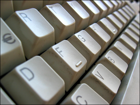 filthy keyboard