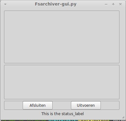 Crude Python3/GTK3 frontend - www fsarchiver org