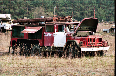Armored Truck For Sale >> Visiting Chernobyl