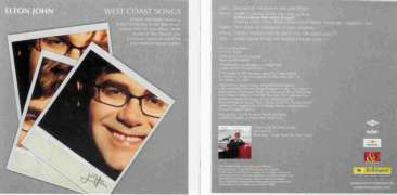 Elton John - West Coast Songs CD