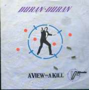 Duran Duran - A View To A Kill Single