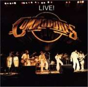 Commodores - Live! LP