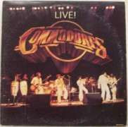 COMMODORES - Live! Record