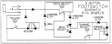 channel footswitch schematic get free image about wiring diagram