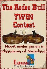 Rodeostier huren ... The rodeobull twin contest