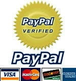 Save and Secure Payments...with PAYPAL  !