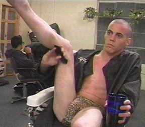 steve o naked and hard