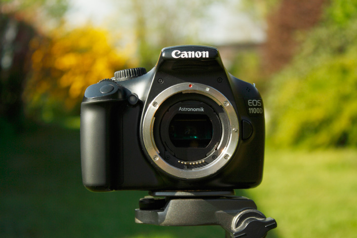 Canon 1100D modified